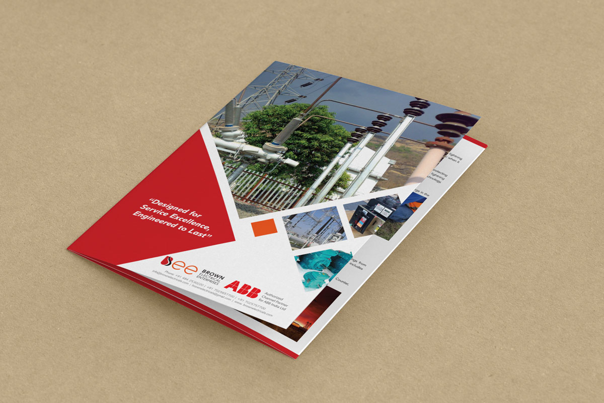 Corporate Brochure Designing
